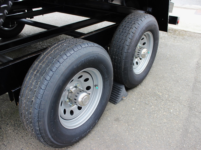 DMP12X80.E. 2015 SNAKE RIVER 12 ft. x 80 in. Dump Trailer from Town and Country Commercial Truck Sales, Kent (Seattle), WA