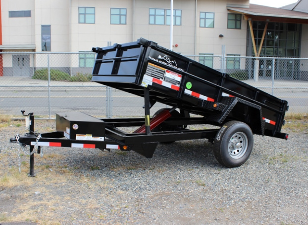 2016 SNAKE RIVER 5 x 10 ft. Single Axle Dump Trailer from Town and Country Truck and Trailer, Kent (Seattle) WA