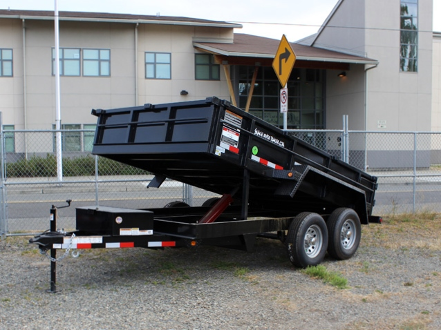 2016 SNAKE RIVER 7 x 12 ft. Dump Trailer #5900 from Town and Country Commercial Truck Sales, Kent (Seattle), WA