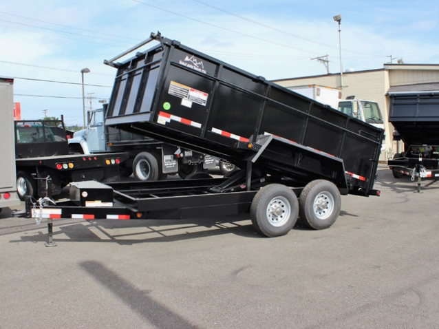 2015 SNAKE RIVER 36 in. Tall Sided Dump Trailer #5902 from Town and Country Commercial Truck Sales, Kent (Seattle), WA