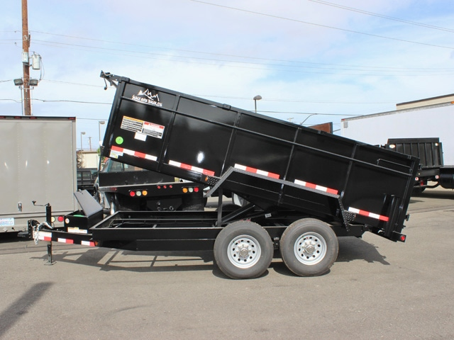 DMP14X36X14K.C. 2015 SNAKE RIVER 36 in. Tall Sided Dump Trailer from Town and Country Commercial Truck Sales, Kent (Seattle), WA