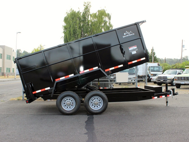 2016 SNAKE RIVER 48 in. Tall Sided Dump Trailer #5903 from Town and Country Commercial Truck Sales, Kent (Seattle), WA