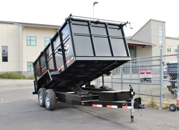 14X48X14K.C. 2015 SNAKE RIVER 48 in. Tall Sided Dump Trailer from Town and Country Commercial Truck Sales, Kent (Seattle), WA