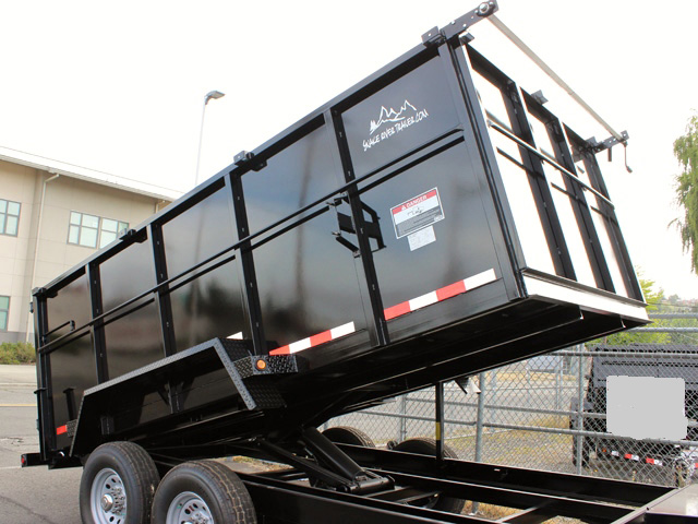 DMP14X48X14K. E. 2015 SNAKE RIVER 48 in. Tall Sided Dump Trailer from Town and Country Commercial Truck Sales, Kent (Seattle), WA