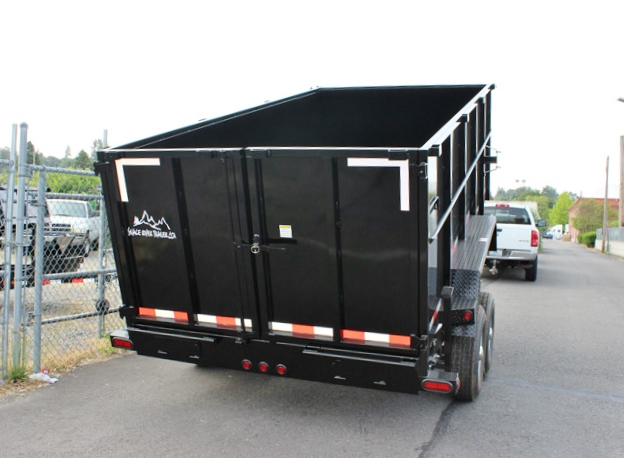 14X48X14K.F. 2015 SNAKE RIVER 48 in. Tall Sided Dump Trailer from Town and Country Commercial Truck Sales, Kent (Seattle), WA