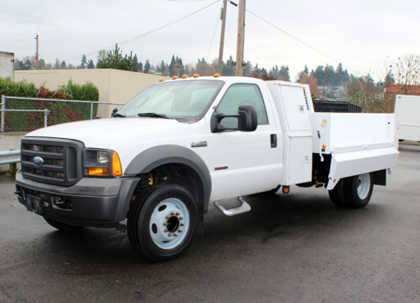 2005 FORD F-450 2-3 Yard Dump Truck from Town and Country Commercial Truck Sales, Kent WA