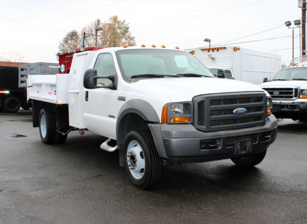 5923.G. 2005 FORD F-450 Non-CDL 2-3 Yard Dump Truck from Town and Country Commercial Truck Sales, Kent (Seattle), WA