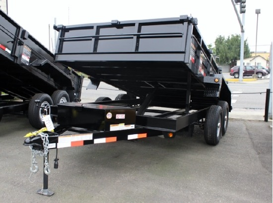 2014 SNAKE RIVER 80 in x 12 ft. Dump trailer #5844 from Town and Country Commercial Truck Sales, Kent, WA