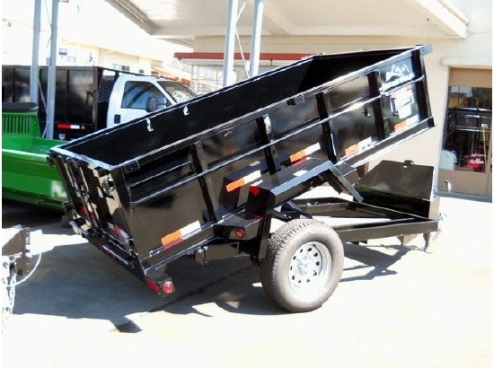 DMP5X8.C. 2015 SNAKE RIVER 5 ft. x 10 ft. Dump Trailer from Town and Country Commercial Truck Sales, Kent (Seattle), WA