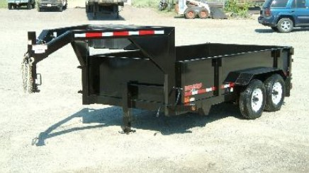 G14X82: 2016 Midsota Versadump Gooseneck 82x14 Dump Trailer from Town and Country Commercial Truck and Trailer, Kent (Seattle) WA
