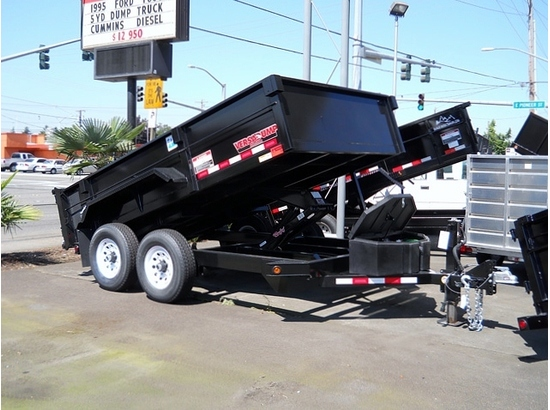 2012 VERSADUMP HV-12 12 ft. x 82 in. Dump Trailer #5779 from Town and Country Commercial Truck Sales, Kent, WA