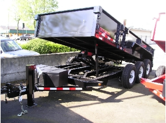 2016 Midsota Versadump 82x16 Dump Trailer #HV82x16 from Town and Country Truck and Trailer, Kent (Seattle) WA