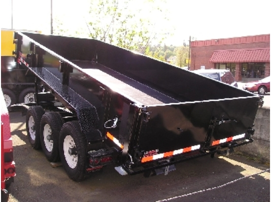 HV16X82.D. 2015 Midsota Versadump 16 ft. x 82 in. Dump Trailer from Town and Country Commercial Truck Sales, Kent (Seattle), WA