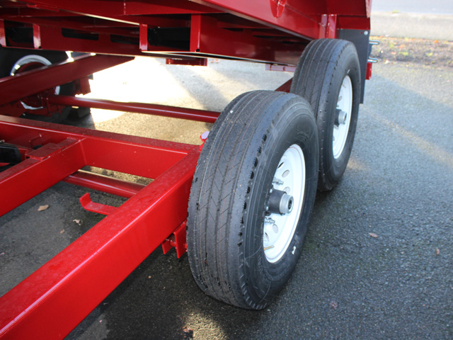 1109.E. 2015 Versa HV-14 82 inch x 14 feet dump trailer from Town and Country Commercial Trailer and Truck Sales, Kent (Seattle), WA
