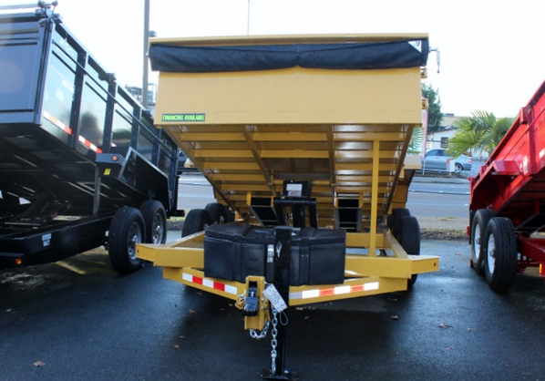 #1110. NEW 2015 VERSA HV-14 Dump Trailer from Town and Country Commercial Truck Sales, with flatbed trucks, dump trucks, utility trucks and trailers.