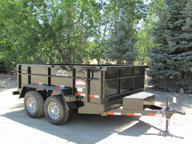1. Snake River 7 ft. wide Trailer from Town and Country Commercial Truck and Trailer Sales, Kent (Seattle), WA
