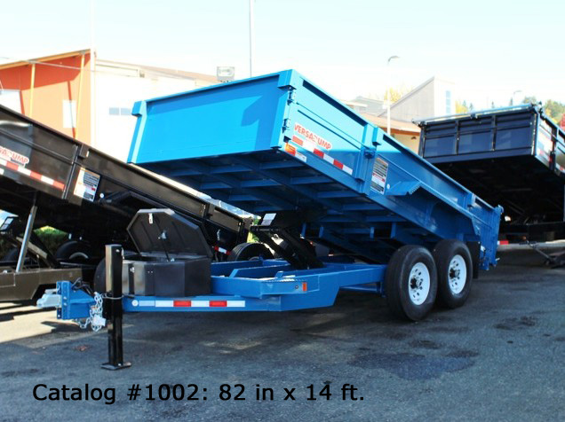 A. HV Series Dump Trailers from Town and Country Commercial Trailer and Truck Sales, Kent (Seattle), WA