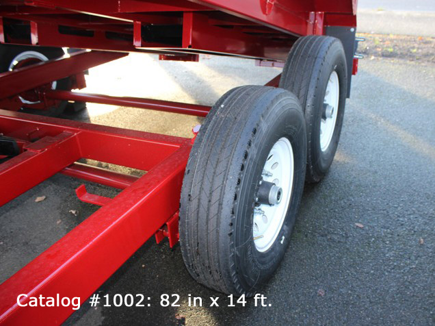 G. HV Series Dump Trailers from Town and Country Commercial Trailer and Truck Sales, Kent (Seattle), WA