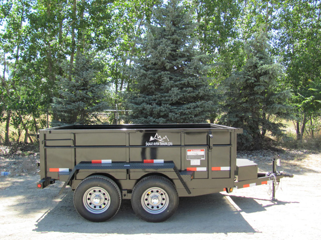 3. Snake River 7 ft. wide Trailer from Town and Country Commercial Truck and Trailer Sales, Kent (Seattle), WA