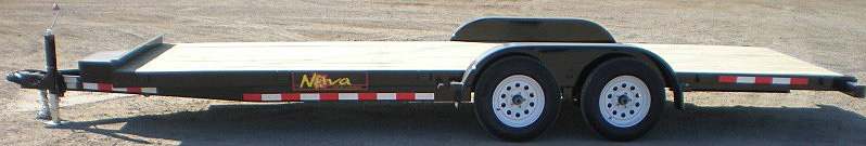 CT4.  Nova CT Series Front Flat Rear Dump Trailer from Town and Country Commercial Truck and Trailer Sales, Kent (Seattle), WA