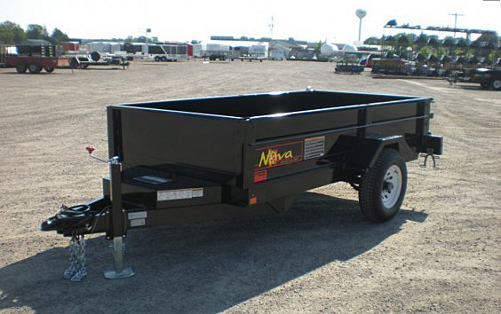 14. Nova DT Series Front Flat Rear Dump Trailer from Town and Country Commercial Truck and Trailer Sales, Kent (Seattle), WA
