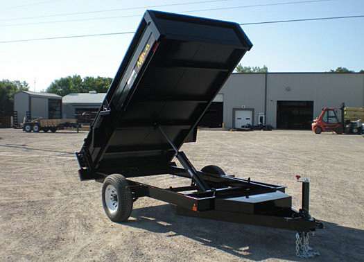 16. Nova DT Series Front Flat Rear Dump Trailer from Town and Country Commercial Truck and Trailer Sales, Kent (Seattle), WA