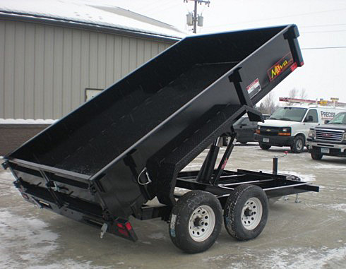 5. Nova DT Series Front Flat Rear Dump Trailer from Town and Country Commercial Truck and Trailer Sales, Kent (Seattle), WA