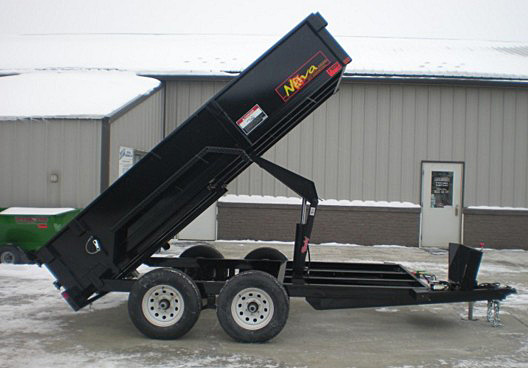 7. Nova DT Series Front Flat Rear Dump Trailer from Town and Country Commercial Truck and Trailer Sales, Kent (Seattle), WA