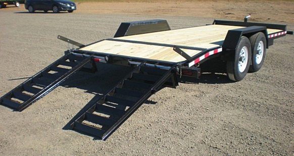 3. Nova ET Series Front Flat Rear Dump Trailer from Town and Country Commercial Truck and Trailer Sales, Kent (Seattle), WA