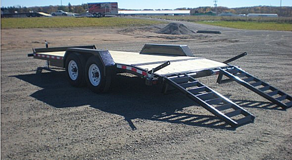 4. Nova ET Series Front Flat Rear Dump Trailer from Town and Country Commercial Truck and Trailer Sales, Kent (Seattle), WA