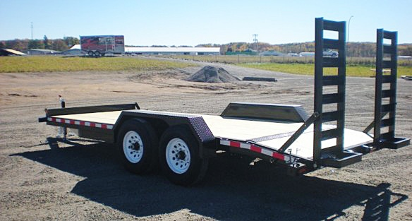 6. Nova ET Series Front Flat Rear Dump Trailer from Town and Country Commercial Truck and Trailer Sales, Kent (Seattle), WA