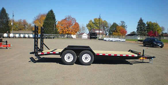 8. Nova ET Series Front Flat Rear Dump Trailer from Town and Country Commercial Truck and Trailer Sales, Kent (Seattle), WA