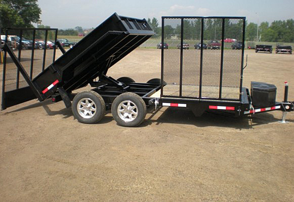 A. FFRD Series Front Flat Read Dump Trailers from Town and Country Commercial Trailer and Truck Sales, Kent (Seattle), WA
