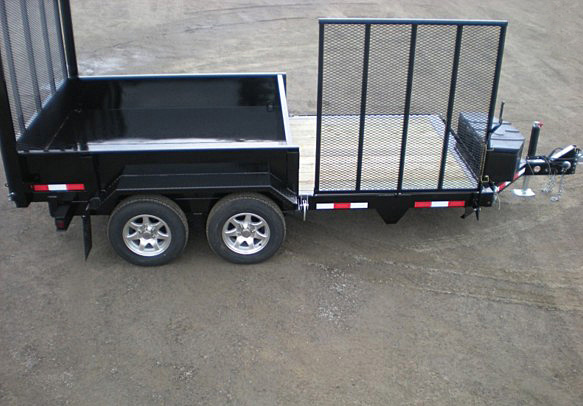 D. FFRD Series Front Flat Read Dump Trailers from Town and Country Commercial Trailer and Truck Sales, Kent (Seattle), WA