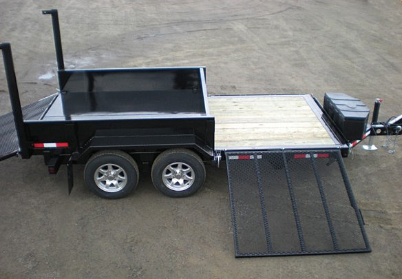 E. FFRD Series Front Flat Read Dump Trailers from Town and Country Commercial Trailer and Truck Sales, Kent (Seattle), WA