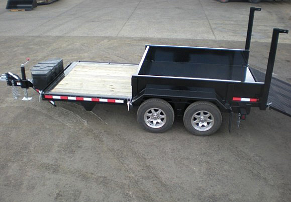 F. FFRD Series Front Flat Read Dump Trailers from Town and Country Commercial Trailer and Truck Sales, Kent (Seattle), WA