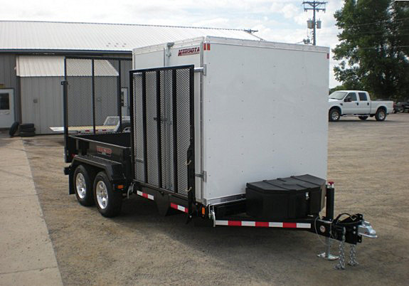 O. FFRD Series Front Flat Read Dump Trailers from Town and Country Commercial Trailer and Truck Sales, Kent (Seattle), WA