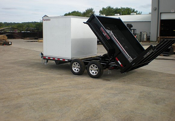Q. FFRD Series Front Flat Read Dump Trailers from Town and Country Commercial Trailer and Truck Sales, Kent (Seattle), WA