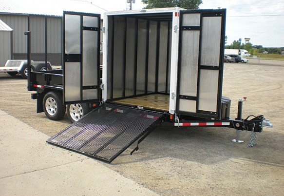 R. FFRD Series Front Flat Read Dump Trailers from Town and Country Commercial Trailer and Truck Sales, Kent (Seattle), WA