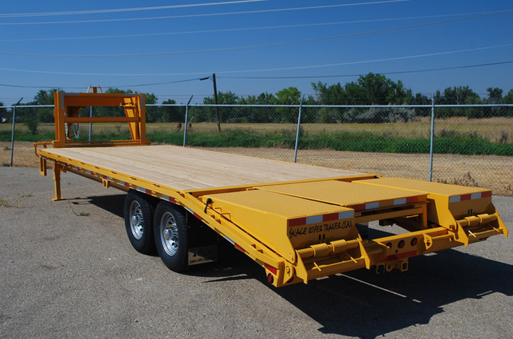 6. Snake River 14K Gooseneck Trailer from Town and Country Commercial Truck and Trailer Sales, Kent (Seattle), WA