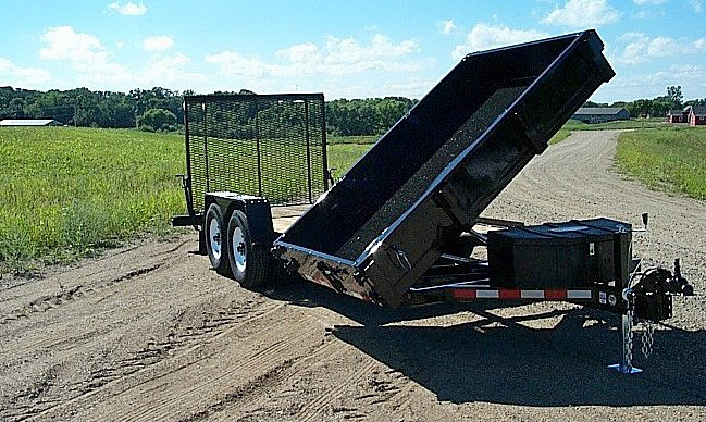 B. HE Series Side Dump Flatbed Trailers from Town and Country Commercial Trailer and Truck Sales, Kent (Seattle), WA