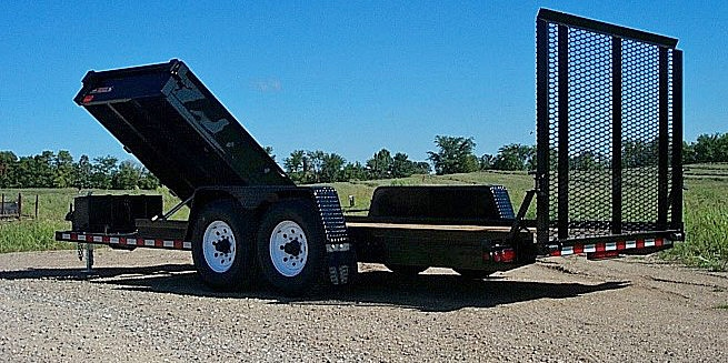 C. HE Series Side Dump Flatbed Trailers from Town and Country Commercial Trailer and Truck Sales, Kent (Seattle), WA
