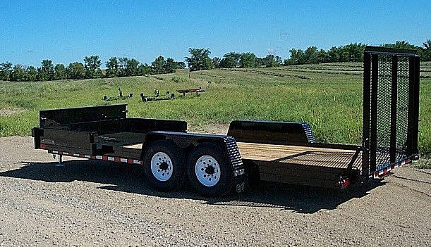 F. HE Series Side Dump Flatbed Trailers from Town and Country Commercial Trailer and Truck Sales, Kent (Seattle), WA