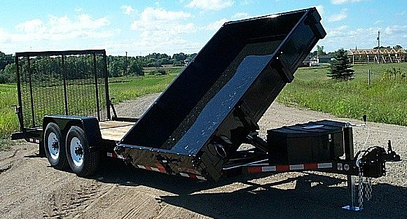 J. HE Series Side Dump Flatbed Trailers from Town and Country Commercial Trailer and Truck Sales, Kent (Seattle), WA