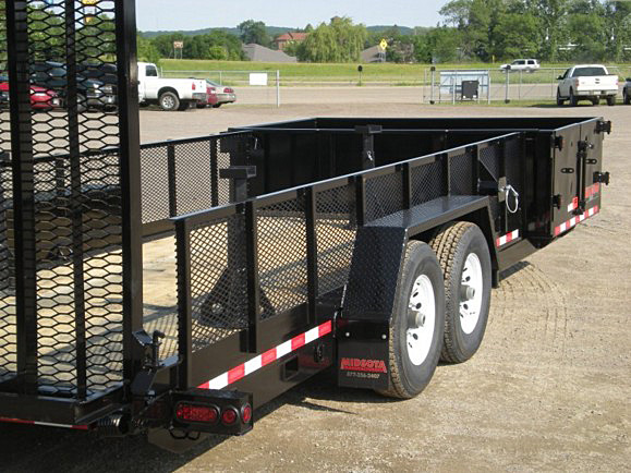 L. HE Series Side Dump Flatbed Trailers from Town and Country Commercial Trailer and Truck Sales, Kent (Seattle), WA