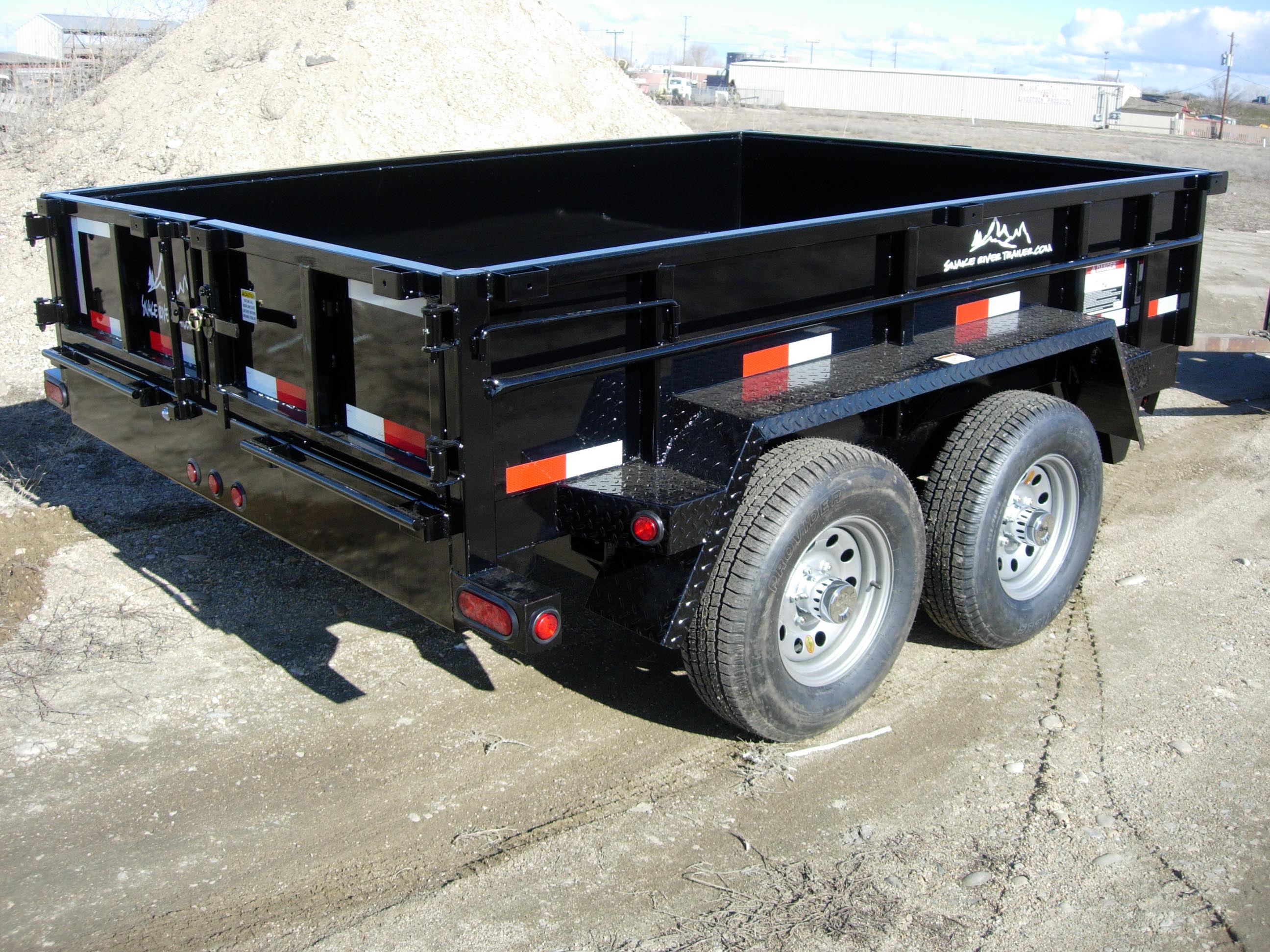 3. Snake River Dump Trailer from Town and Country Commercial Truck and Trailer Sales, Kent (Seattle), WA