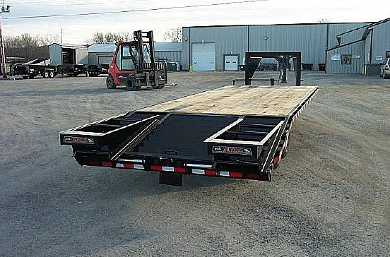 C. STO Series Deck Over Flatbed Trailers from Town and Country Commercial Trailer and Truck Sales, Kent (Seattle), WA