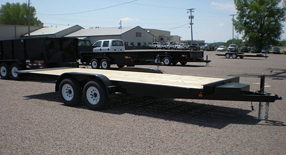 10. Nova TB Series Tilt Bed Trailer from Town and Country Commercial Trailer and Truck Sales, Kent (Seattle), WA