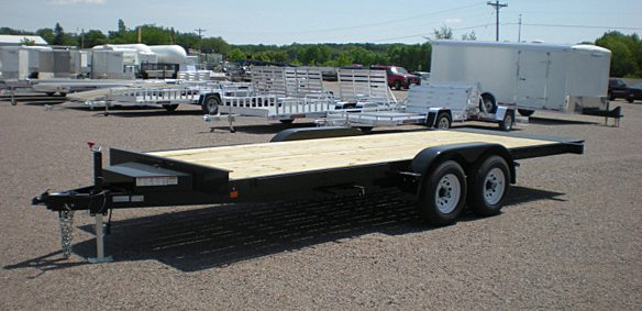 7. Nova TB Series Tilt Bed Trailer from Town and Country Commercial Trailer and Truck Sales, Kent (Seattle), WA