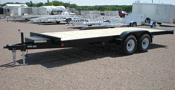 9. Nova TB Series Tilt Bed Trailer from Town and Country Commercial Trailer and Truck Sales, Kent (Seattle), WA